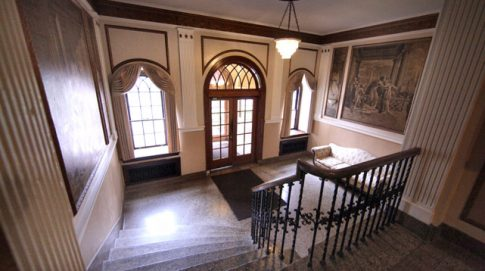 Stanton, Lobby, Staircase, Rochester NY