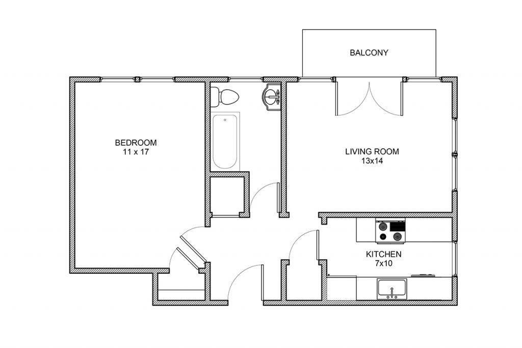 Algonquin, One Bedroom