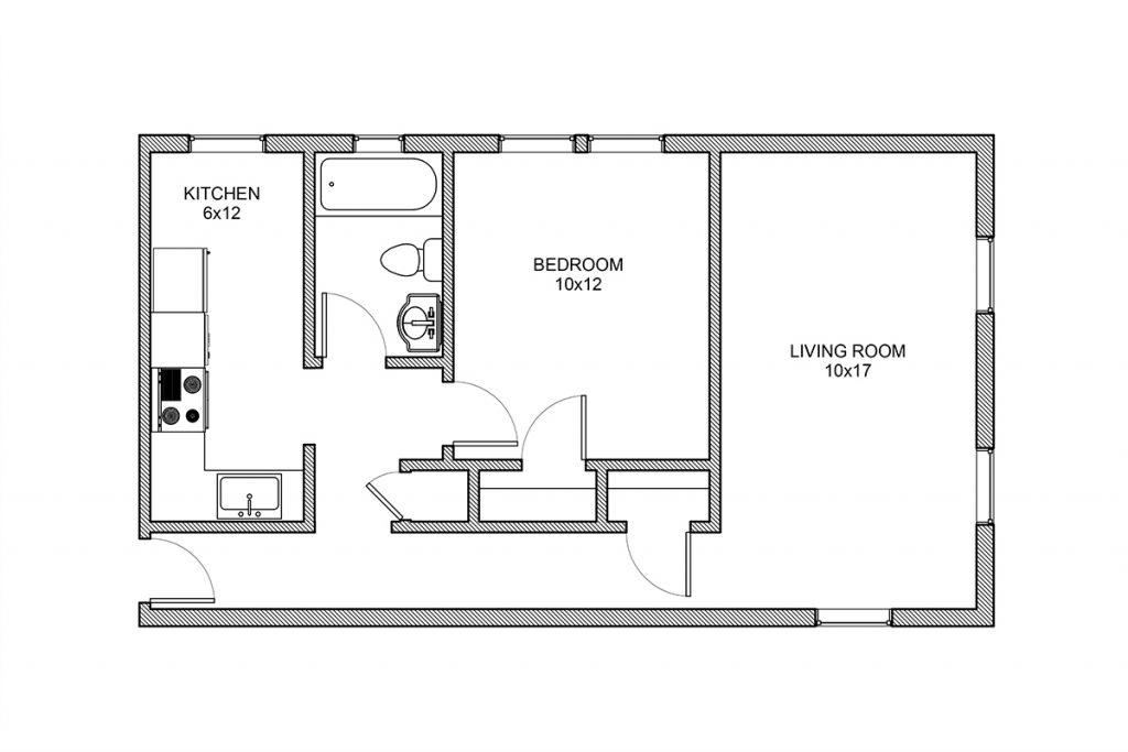 Berkeley, One bedroom, Rochester NY