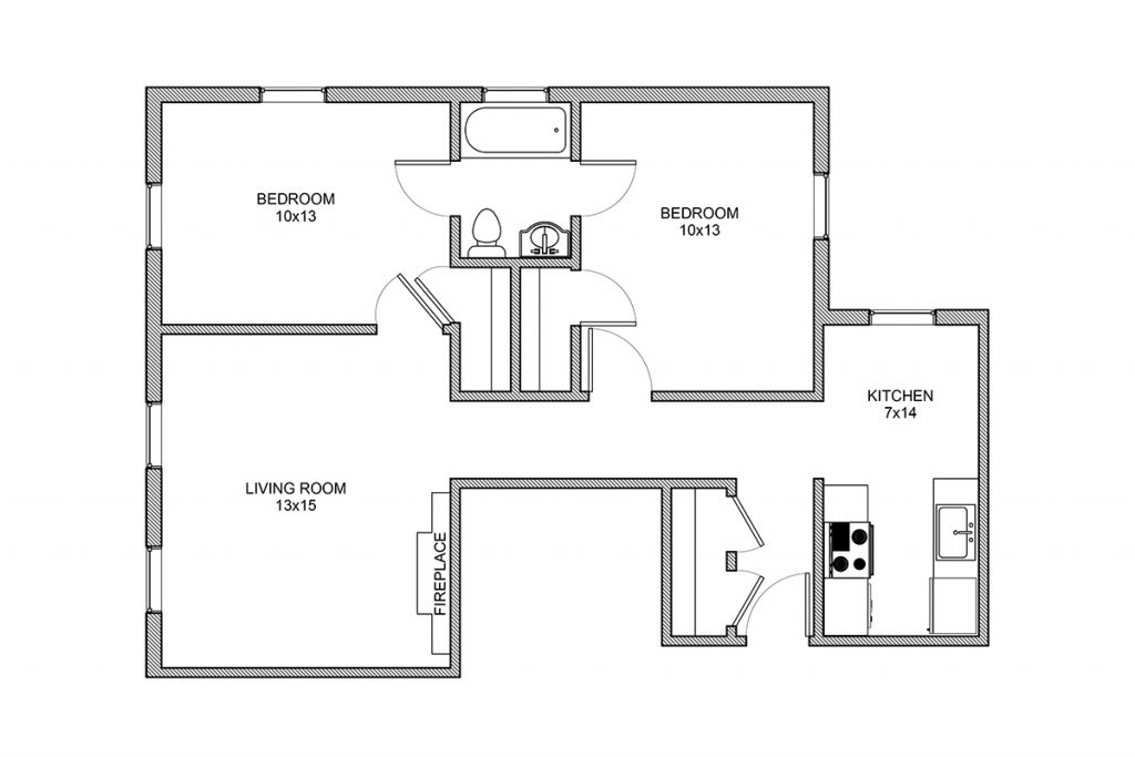 Stanton, Two Bedroom, Rochester NY
