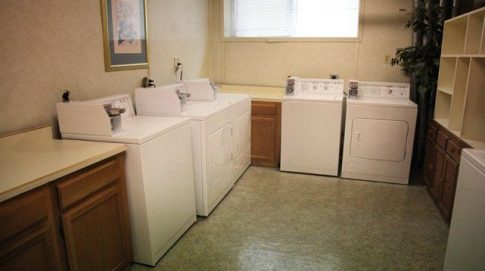 Whittier, Laundry room